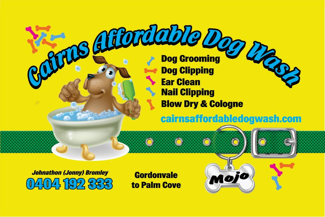 cairns affordable dog wash